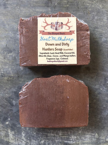 Down and Dirty Hunters Goat Milk Soap