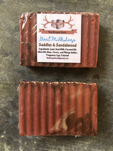 Saddles and Sandalwood Goat Milk Soap