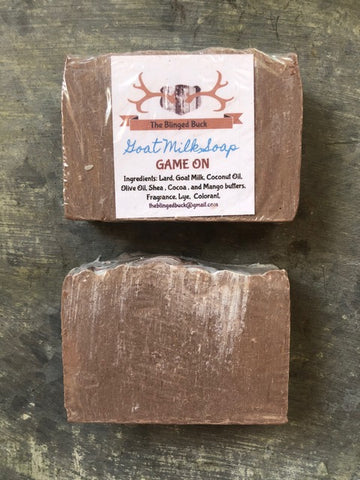 "Goat Milk Soap ""Game On"""