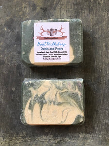 Denim and Pearls Goat Milk Soap