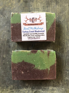 Turkey Creek Bluebonnet Goat Milk Soap