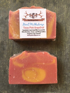 Texas Pink Grapefruit Goat Milk Soap