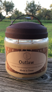 Outlaw Rustic Candle