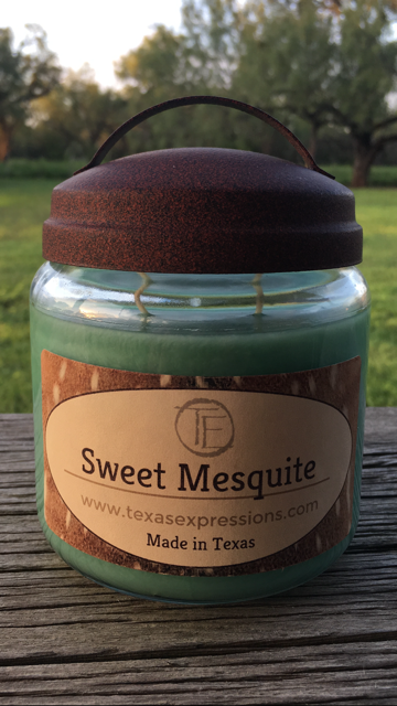 Sweet Mesquite Rustic Candle