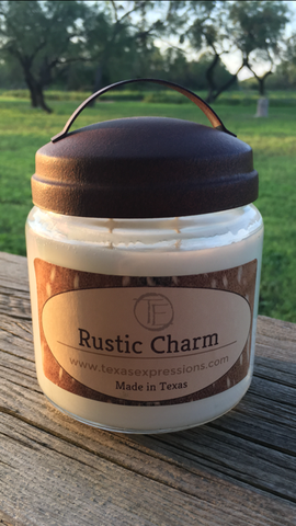 Rustic Charm Rustic Candle