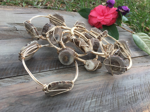 Twisted Wire Antler Bangle
