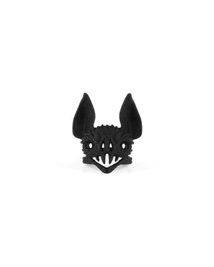 Vampire Bat Ring in Black