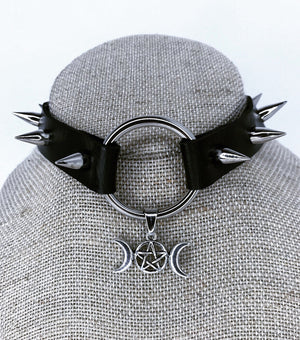 Moon Goddess choker (black)