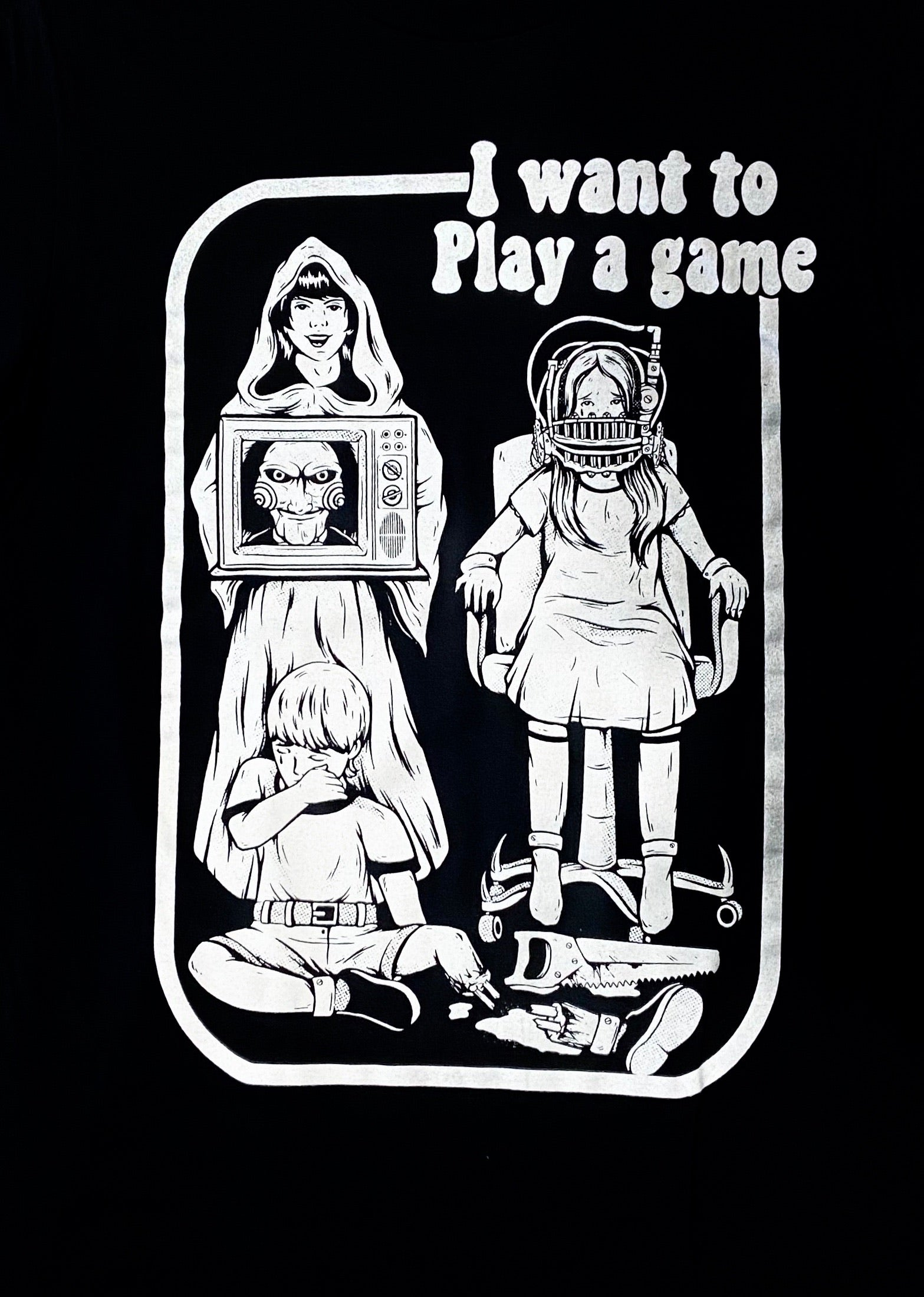 I Want To Play A Game T-Shirt