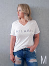 """Milabu"" V-Neck Shirt"