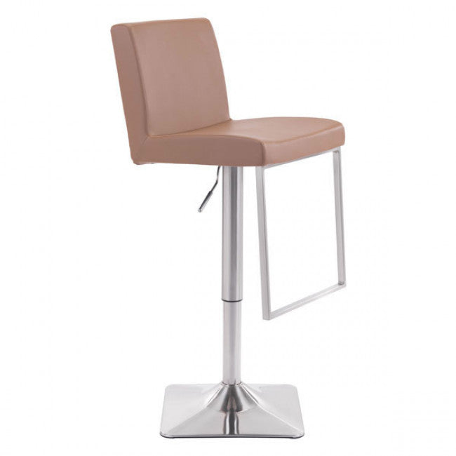 leatherette bar chair