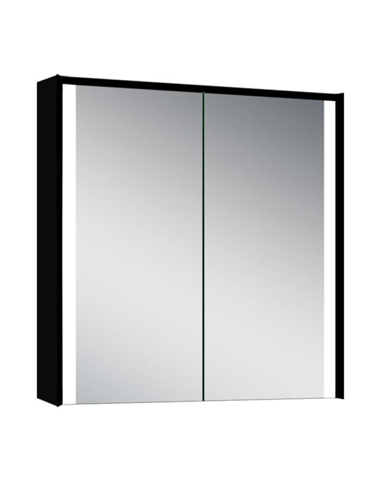 LED Mirrored Cabinet