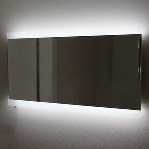 "LEORA - LED Parallel Wall-Mounted Mirror 36""x24"" - Lighted Image"
