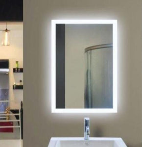"LED Wall-Mounted Mirror 24""x36"""