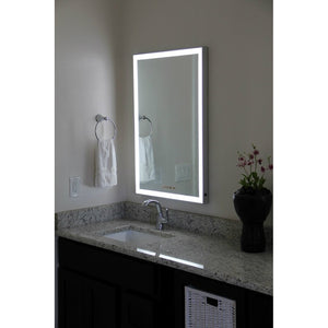 "24""x36"" Dimmable LED Mirror"
