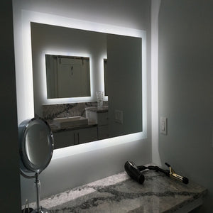 CADENZA - LED Bordered Wall-Mounted Mirror Large and X-Large