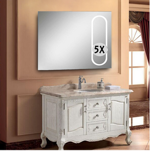 "Magnifying LED Mirror 31.5""x24"""