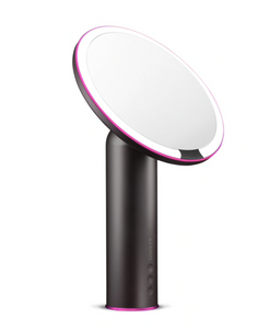 "Dimmable 8"" Free Standing LED Makeup Mirror With Smart Sensor - Amiro"