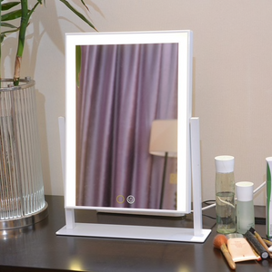 "Kate - Dimmable 11.81"" x 15.78"" Free Standing LED Makeup Mirror"