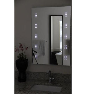 "VENETIA - LED Clustered Wall-Mounted Mirror 24""x31.5"" - Lighted Image"