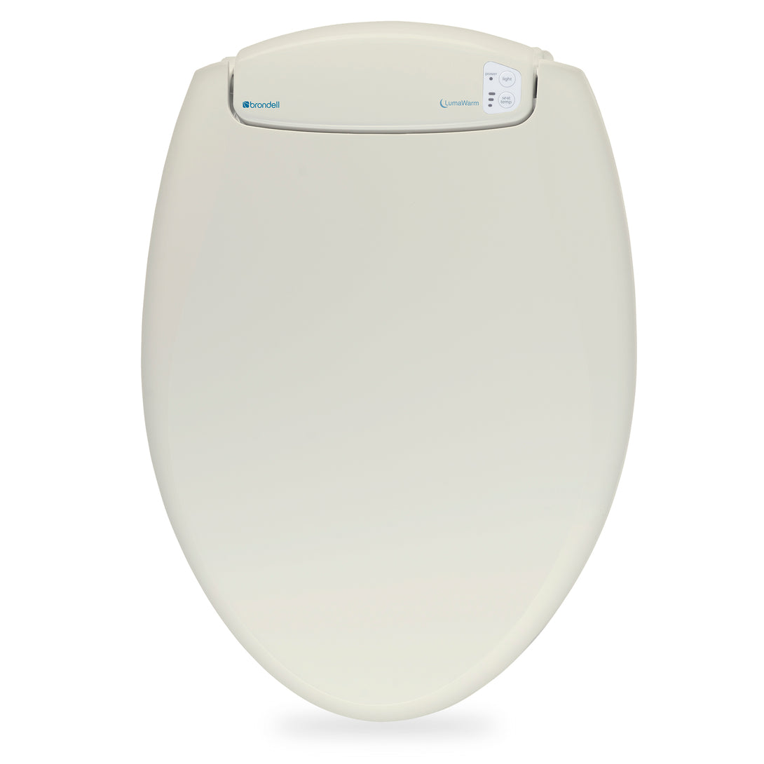 LumaWarm Heated Toilet Seat With Nightlight - Brondell