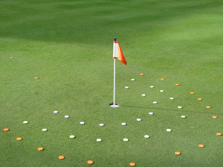 Quick way to make the circles in the Junior Super Star Golf Program