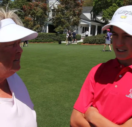 Drive Chip and Putt Player Sam Discusses the Junior Super Star Golf Program