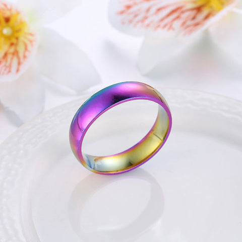 COLORS OF THE OCEAN™ STAINLESS STEEL RING