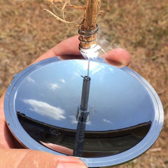 Solar Lighter! You won't believe how quick it lights!