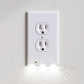 Pathway LED Light Outlet Cover w/Sensor