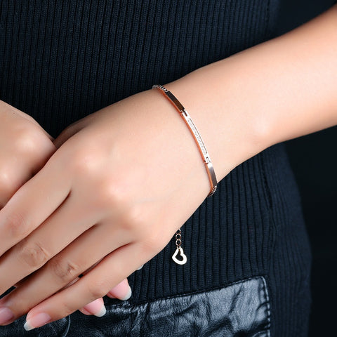 "TITANIUM BRACELETS 2 PIECES FOR MEN AND FOR WOMEN ""HER KING HIS QUEEN"""