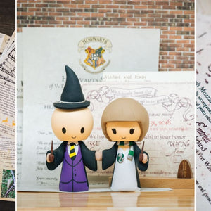 Harry Potter Custom Wedding Stationary: Invitations, Programs, RSVP, Thank You Cards, and More