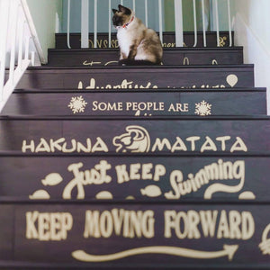 Decal Sets for Stairs