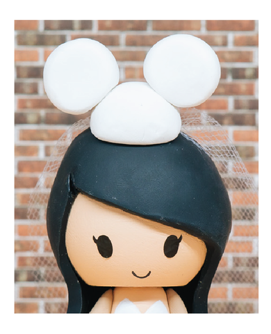 Cute Disney Themed Wedding Cake Toppers | Jessichu Creations Blog