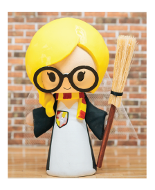 Harry Potter Inspired Themed Wedding Cake Toppers | Jessichu Creations Blog