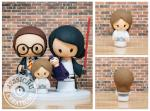 Chic Star Wars Themed Wedding Cake Toppers | Jessichu Creations Blog