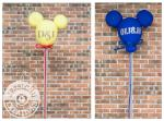 Chic Cute Disney Themed Wedding Cake Toppers | Jessichu Creations Blog