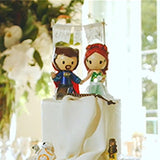 Custom Wedding Cake Toppers Figurine Geeky Nerdy Cute | Jessichu Creations Testimonials