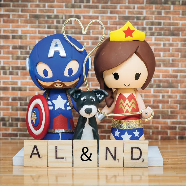 Wedding Cake Topper Figurines - Custom Order Only Toppers
