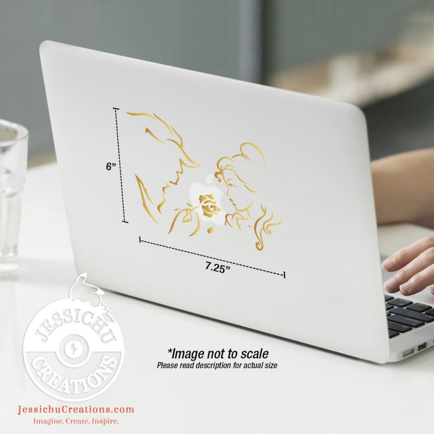 Beauty And The Beast Inspired Wall Vinyl Decal V3 Decals