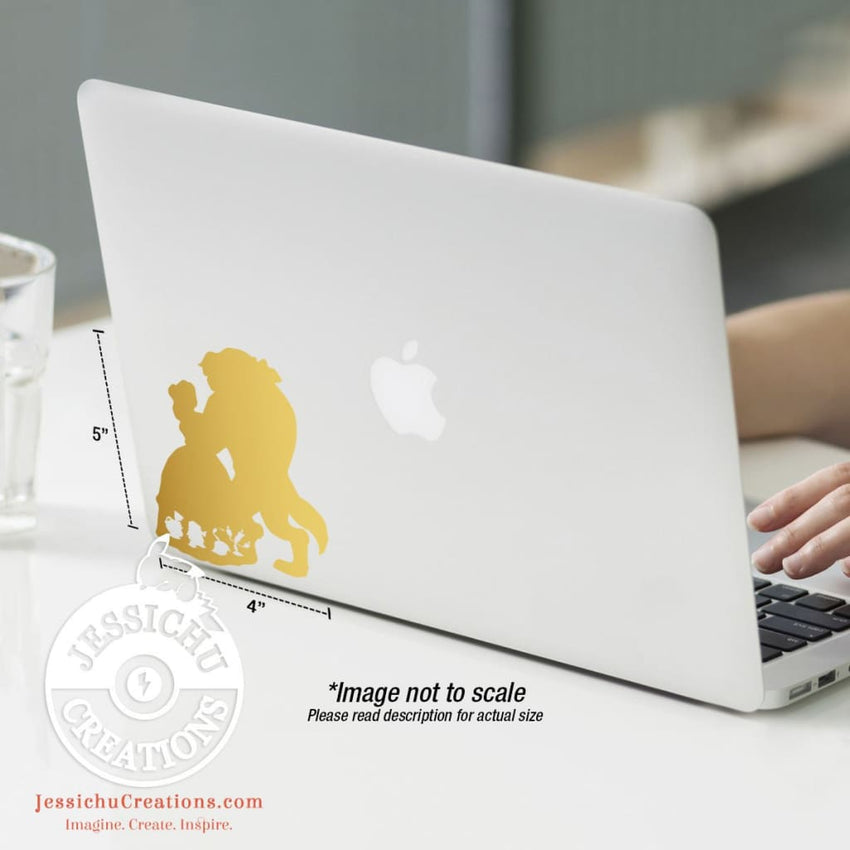 Beauty And The Beast Inspired Wall Vinyl Decal V4 Decals