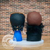 Jon Snow and Daenerys Targaryen Wedding Cake Topper | Game of Thrones | Jessichu Creations