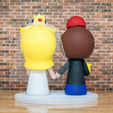 Mario and Princess Peach Wedding Cake Topper | Nintendo | Jessichu Creations
