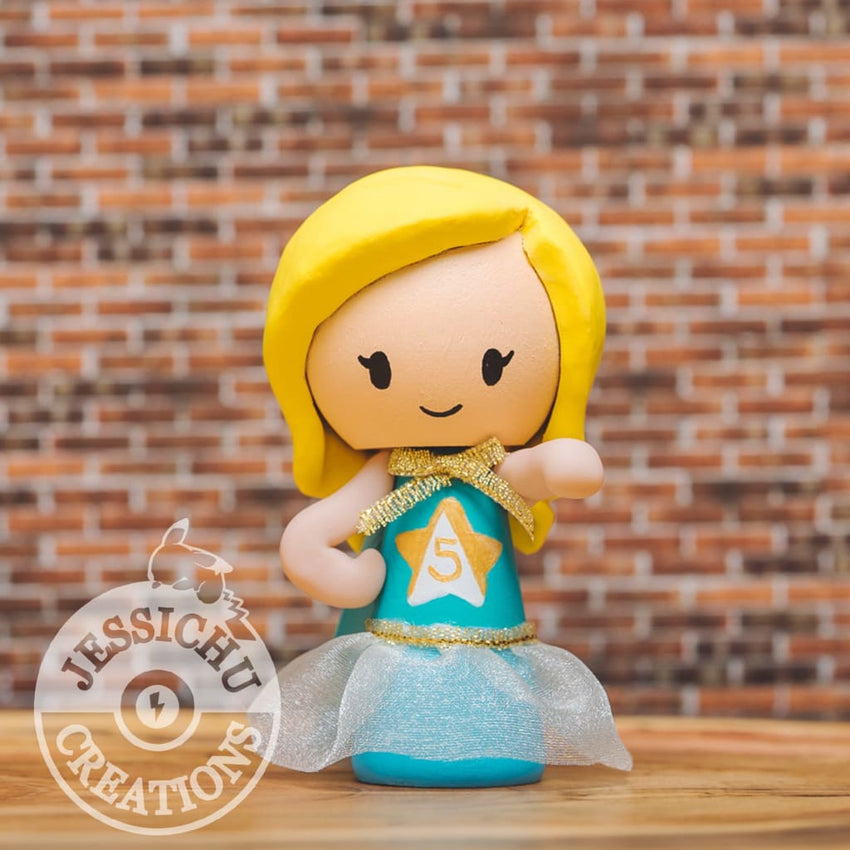 Birthday Cake Topper | Jessichu Creations