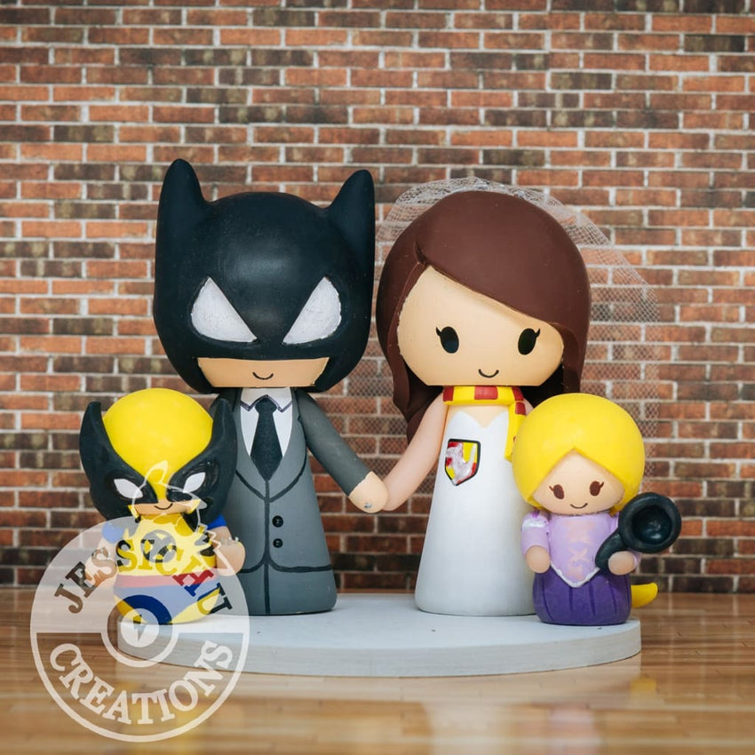Add Children To Your Custom Wedding Cake Topper Figurines Toppers