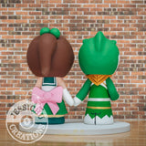 Green Ranger & Sailor Jupiter Wedding Cake Topper | Power Rangers x Sailor Moon | Jessichu Creations