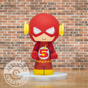 Flash Birthday Cake Topper | DC | Jessichu Creations