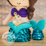 Corvette Fan and Ariel Little Mermaid Anniversary Cake Topper | Sports x Disney | Jessichu Creations