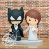 Batman and Bride Wedding Cake Topper | DC | Jessichu Creations