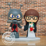 Hank Pym Antman Groom & Gryffindor Bride Wedding Cake Topper | Marvel x Harry Potter | Jessichu Creations